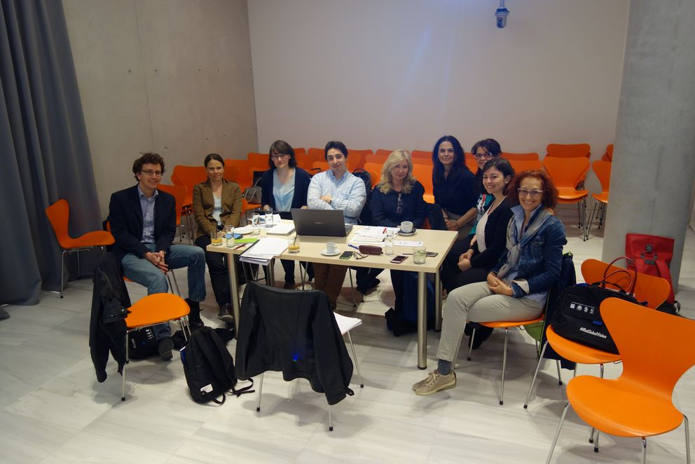 Meeting of the project partners in Athens